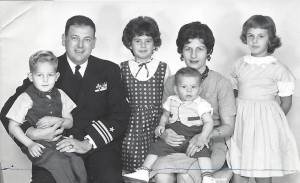 The Krauthamer Family in 1962/1963