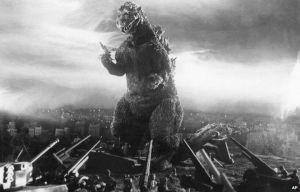 Godzilla on the warpath!