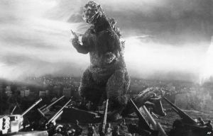 Godzilla on the warpath!