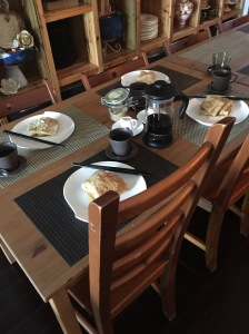 Breakfast - Day 2 - Special Stuffed Crepes.