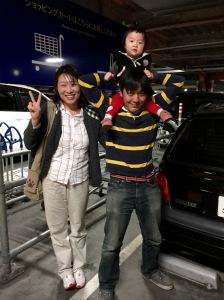 Nayeong, Tsuyoshi, and baby May at Ikea