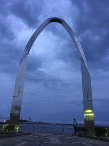 Arch at Mikasa Park